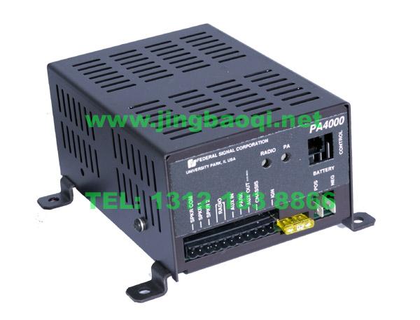 美国原装pa4000警报器联邦信号(道奇)原装进口federal