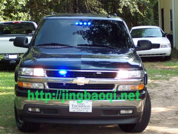 美国警车爆闪灯安装效果欣赏-1